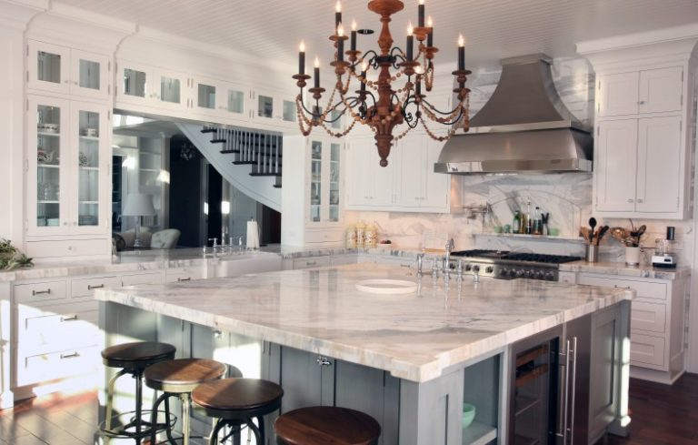 Try the Trend: Marble in the Kitchen - Porch Advice
