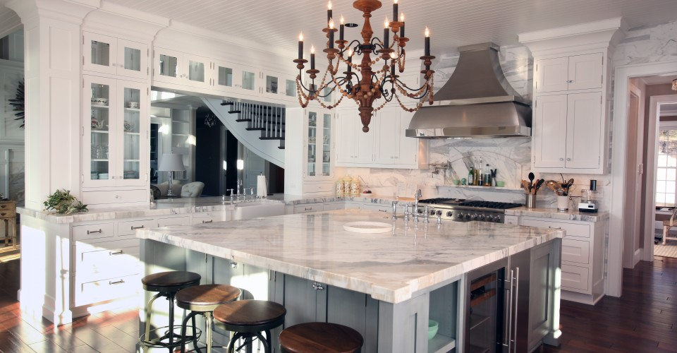 Try The Trend Marble In The Kitchen