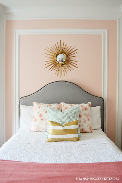 Sita Montgomery Interiors: Try The Trend: Pale Pink Decor Ideas
