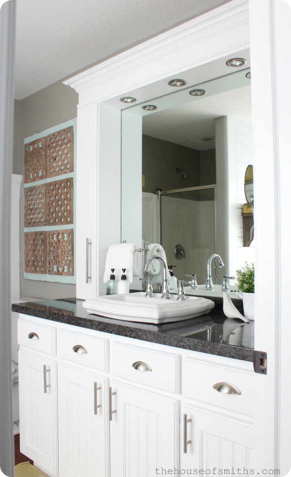 Bathroom Vanity Tower Ideas : New year look diy ways to refresh your bathroom