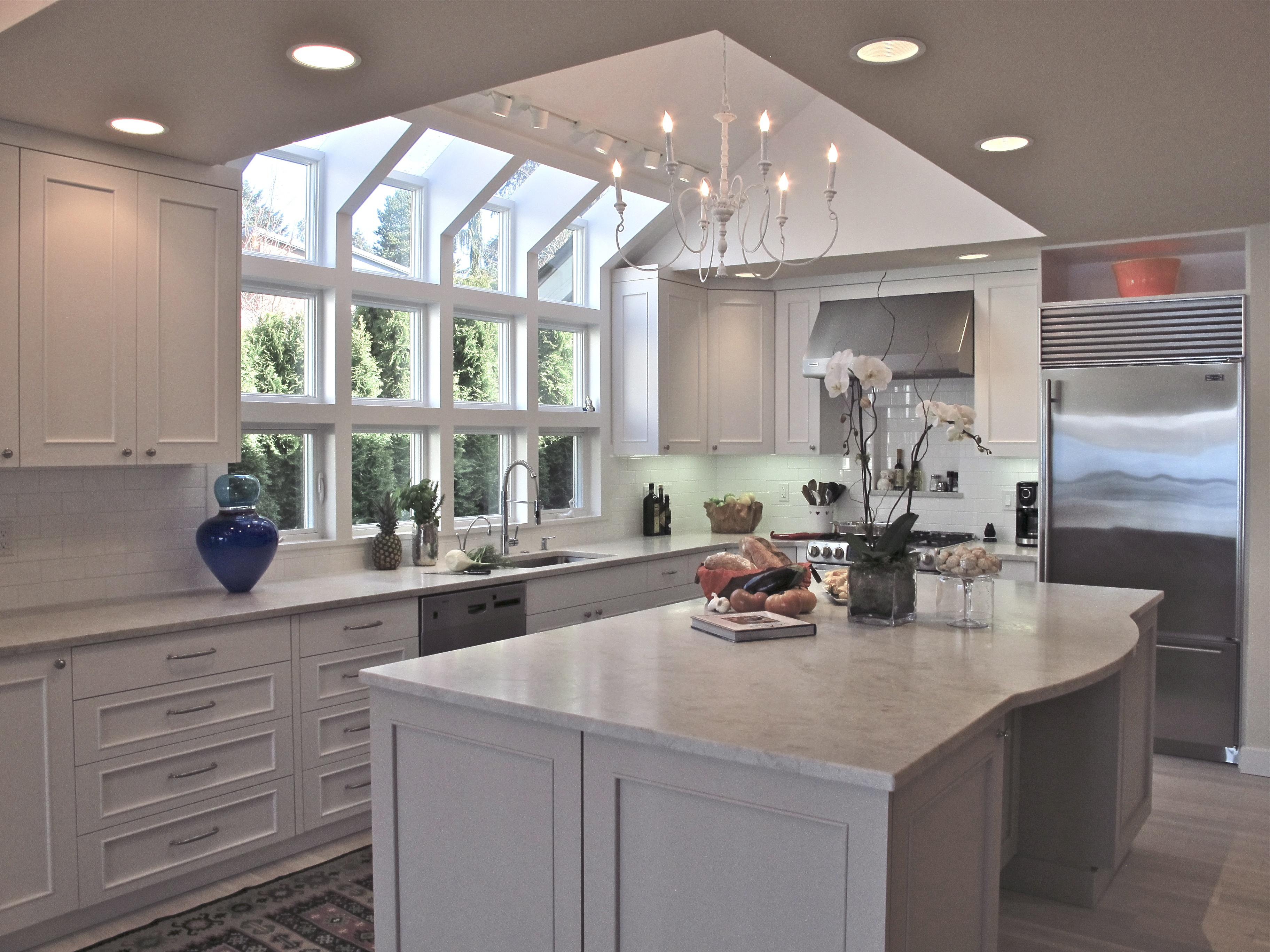 try the trend marble in the kitchen porch advice