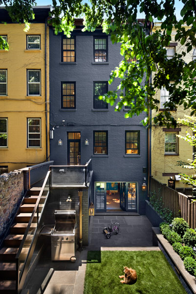 Row House Backyard Ideas : Stunning SmallSpace Urban Backyards  Porch Advice