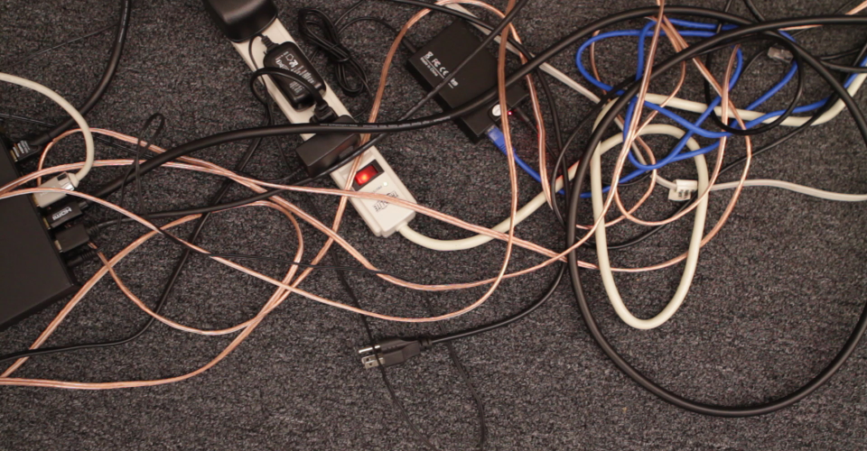 Mess cables