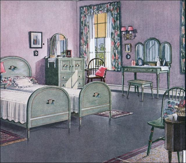 1924 bedroom