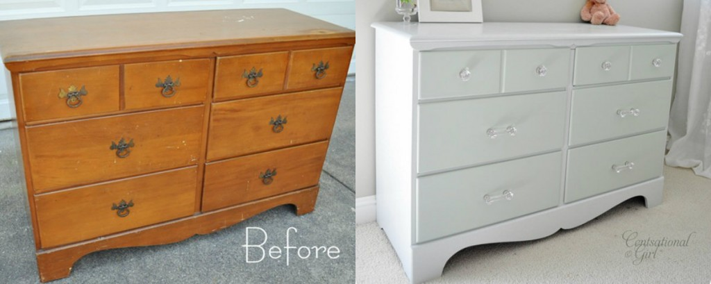 15 Painted Furniture Makeovers You Ll Love Porch Advice. How To Paint  Distress ... - Painting Furniture Antique White - Best Painting 2018
