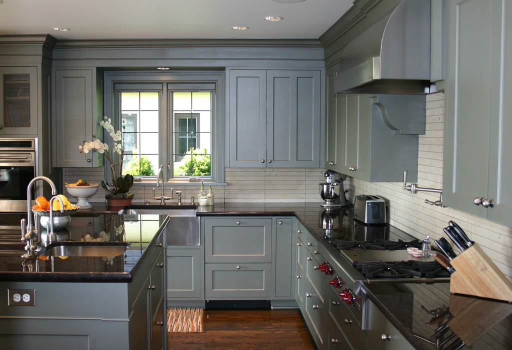 The 6 best kitchen design trends to try in 2015 porch advice for Kitchen paint colors grey