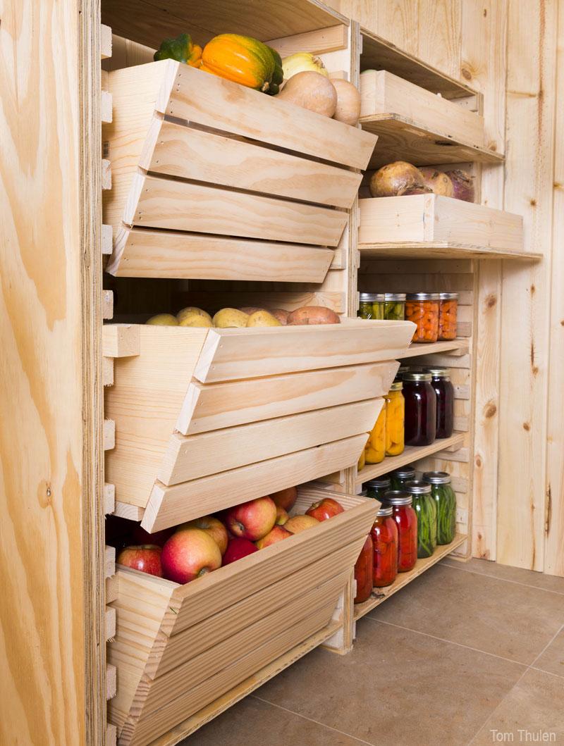 Hobby Farms - vegetable storage