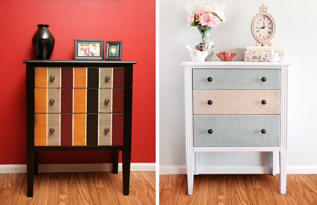 chalk paint furniture before and after15 Painted Furniture Makeovers Youll Love  Porch Advice