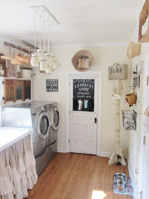 Junk Chic Cottage via A Delightsome Life