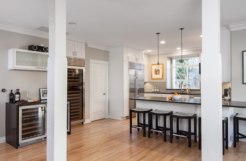 A Kirkland Kitchen Remodel All About Wine