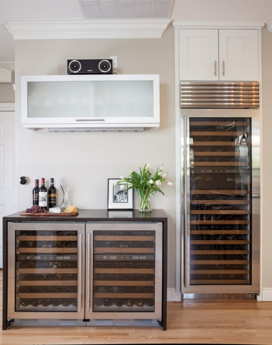 Model Remodel Wine Fridges & A Kirkland Kitchen Remodel All About Wine - Porch Advice