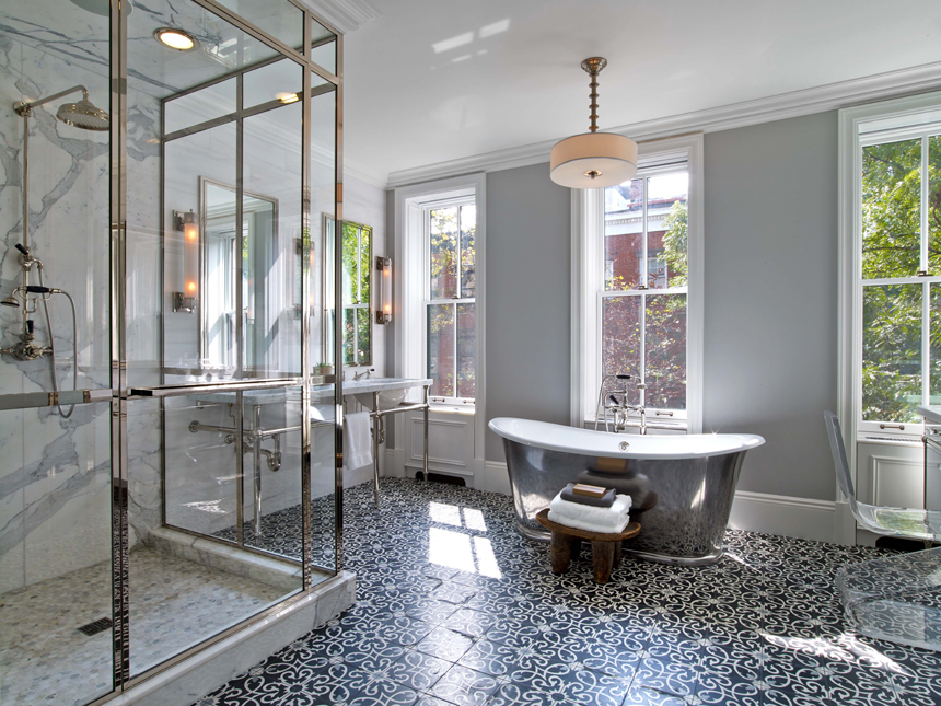 40 Gorgeous Ways To Do Patterned Tile In The Bathroom Fascinating Patterned Wall Tiles