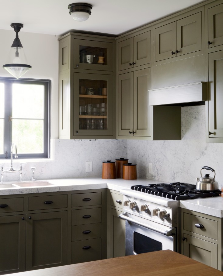Remodelista Colorful Kitchen Cabinets
