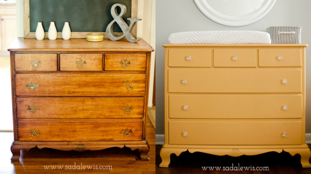 Ideal 15 Painted Furniture Makeovers You'll Love - Porch Advice LH53