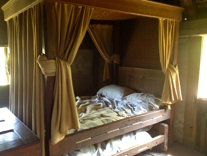 15th century bed England