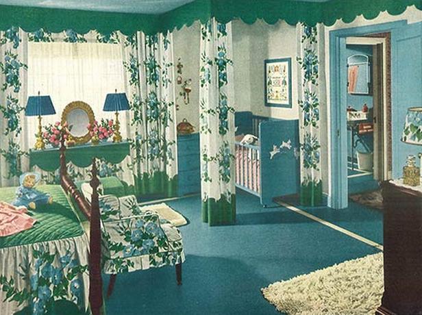 1944 bedroom