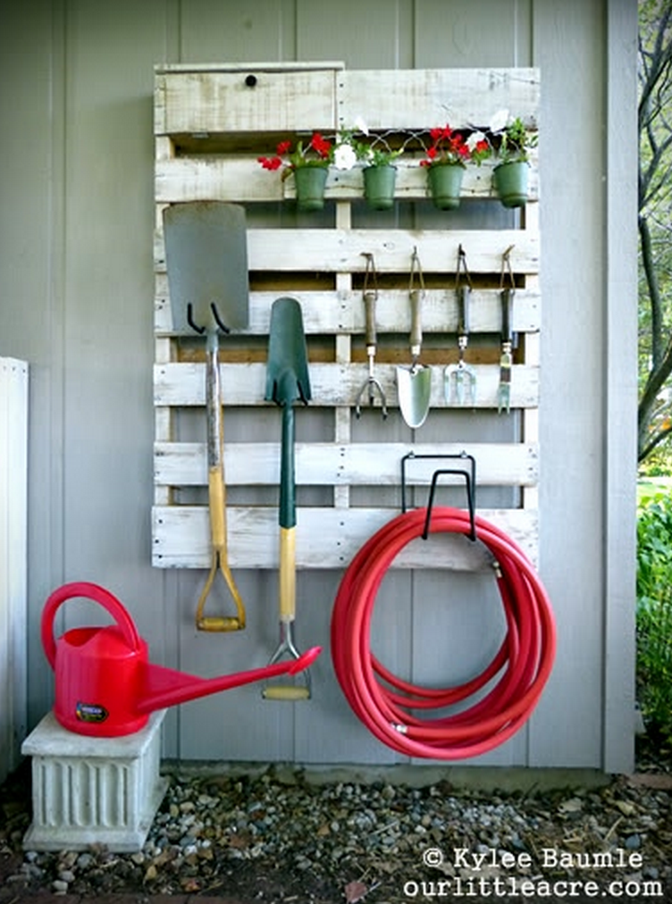 Our Little Acre - DIY Garden Organization