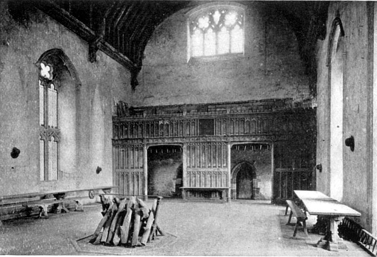 14th century great hall England
