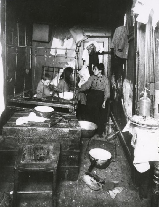 tenement life new york 19th century