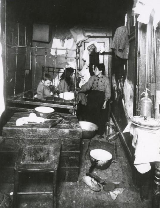 tenement life new york 19th century