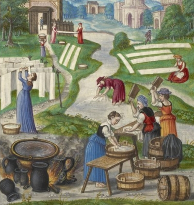 16th century laundry