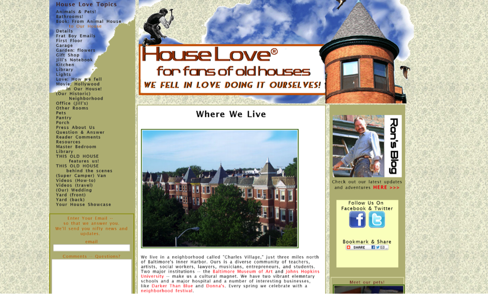 Blogs for Old House Lovers - House Love