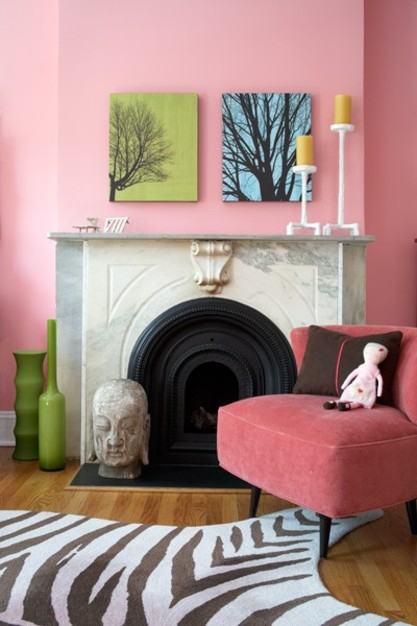 Coburn Architects PC Strawberry Ice Pantone paint color