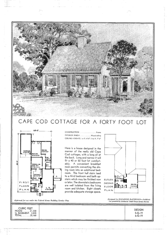 What 39 s that house a guide to cape cod style houses for Cape cod house floor plans