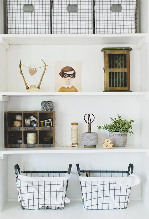 Design*Sponge - bookshelf styling
