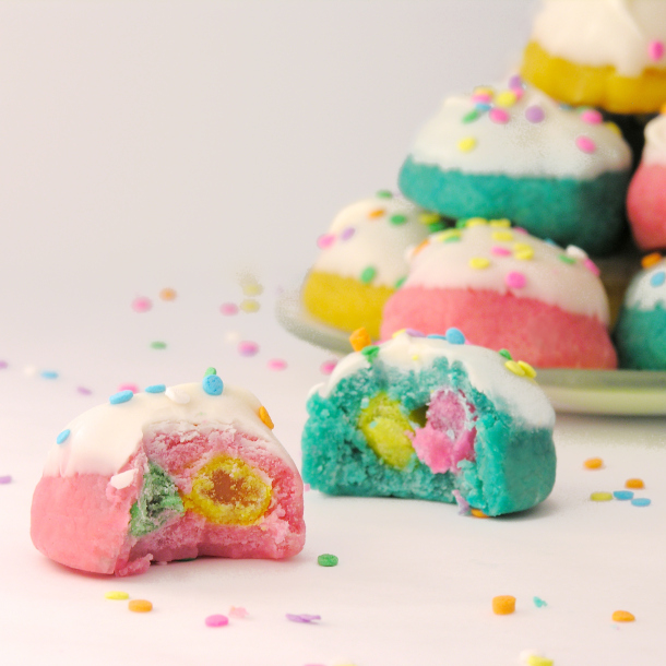 Easybaked Easter jelly bean cookies