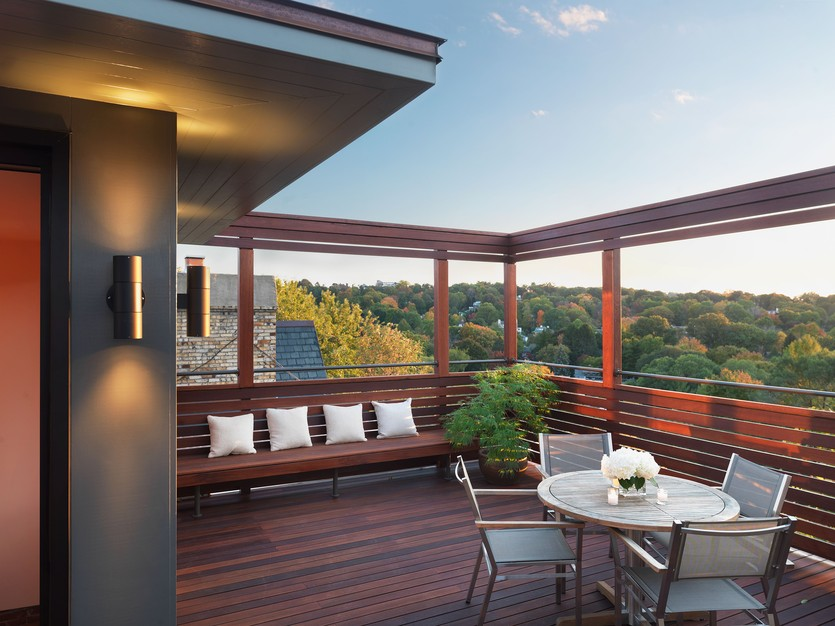 An Impressive Rooftop Deck Addition - Porch Advice