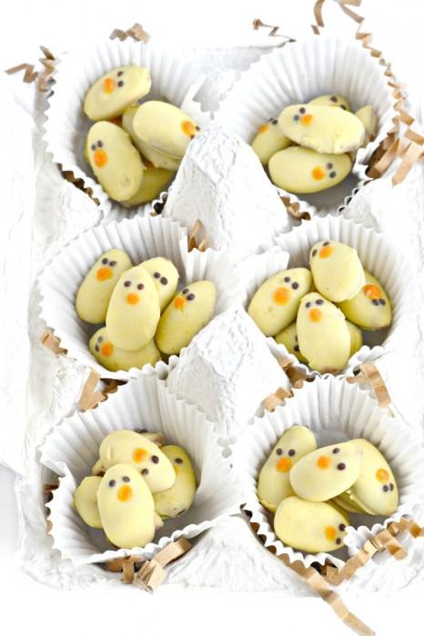 Fork & Beans Easter almond baby chicks