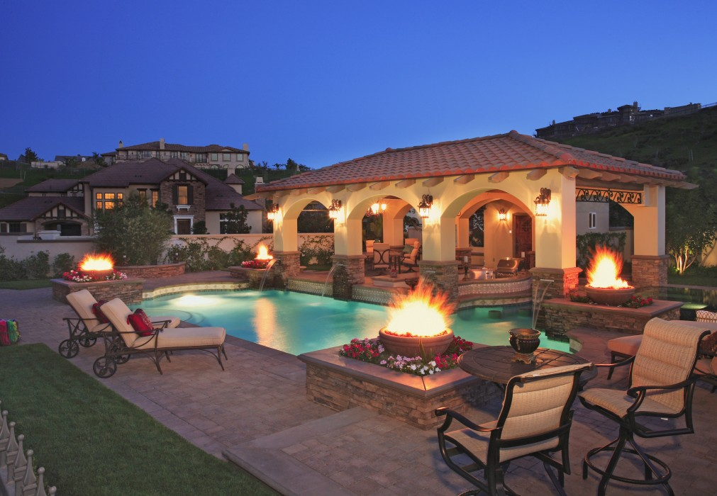 a five star fabulous outdoor design in calabasas porch