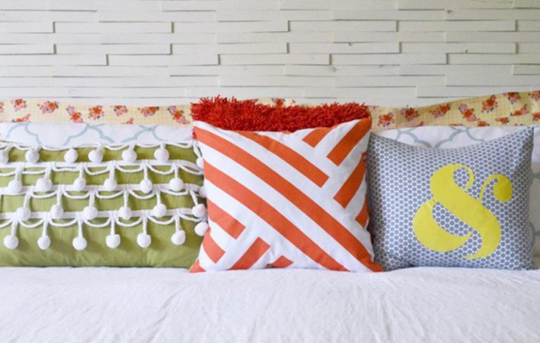 9 diy decorative pillow ideas - porch advice Making Decorative Pillows