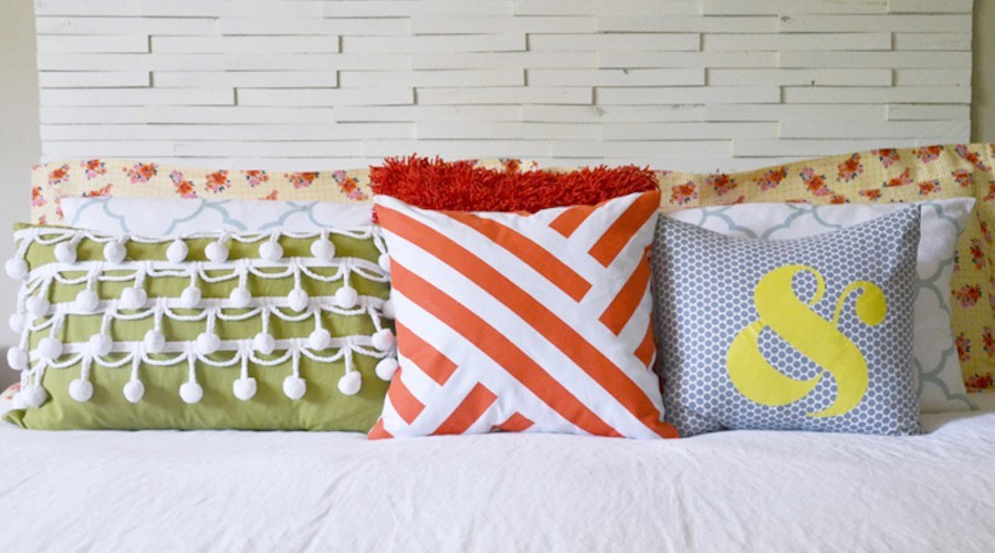 9 diy decorative pillow ideas porch advice - Ideas for decorative pillows ...