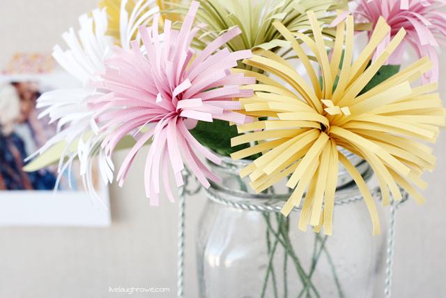 Bring in Spring7 Bright, Beautiful Paper Flower DIYsPorch Advice