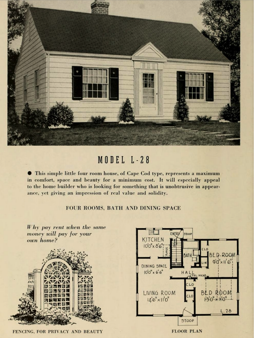 What 39 s that house a guide to cape cod style houses for Styles of homes built in 1900