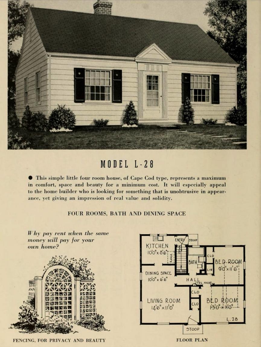Low Cost Homes 1900 Cape Cod Porch