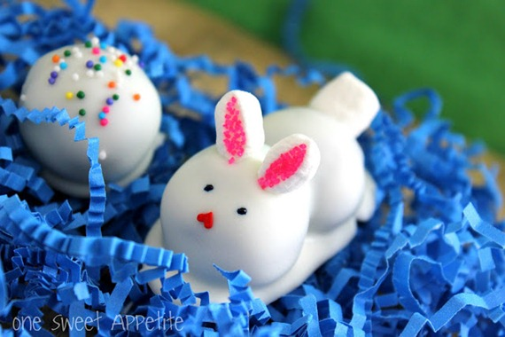 One Sweet Appetite Easter oreo truffle bunnies