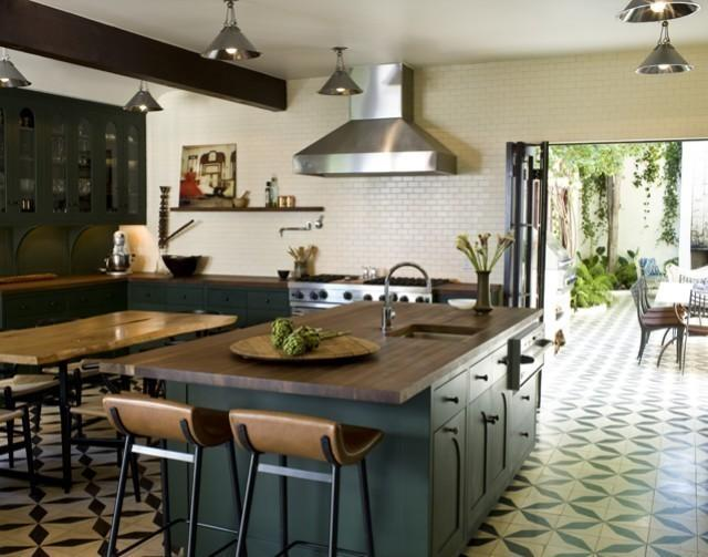 6 Ways To Make Your Kitchen Pop With Patterned Tile