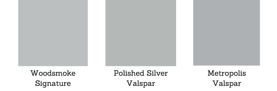 Glacier Gray Pantone Paint Color