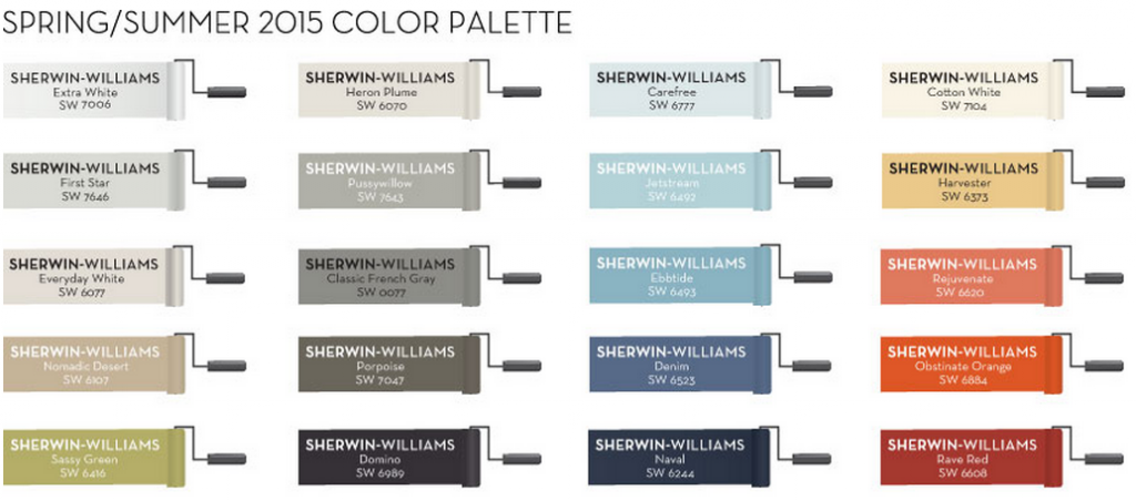 Pottery Barn Catalog Paint Colors