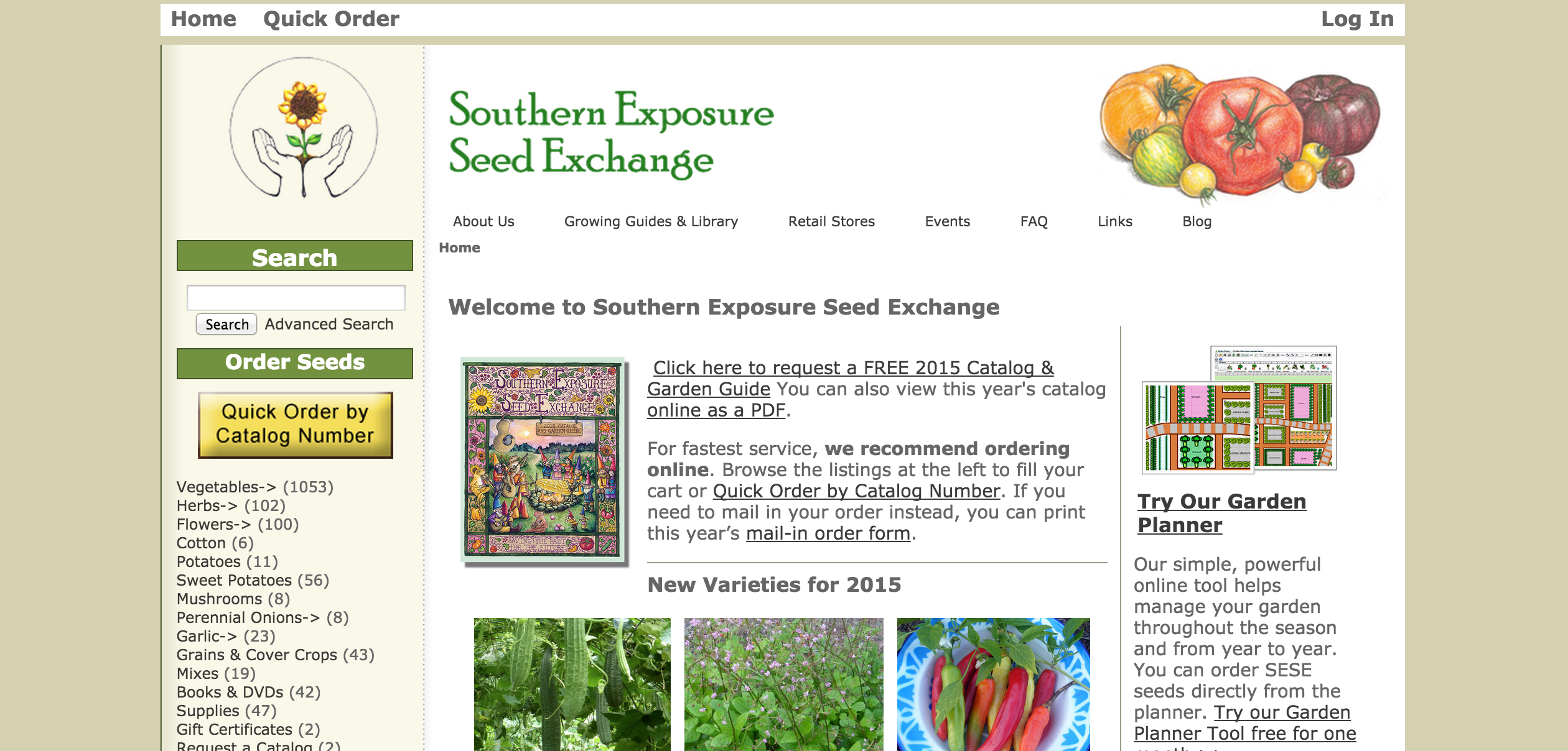 5. Southern Exposure Seed Exchange