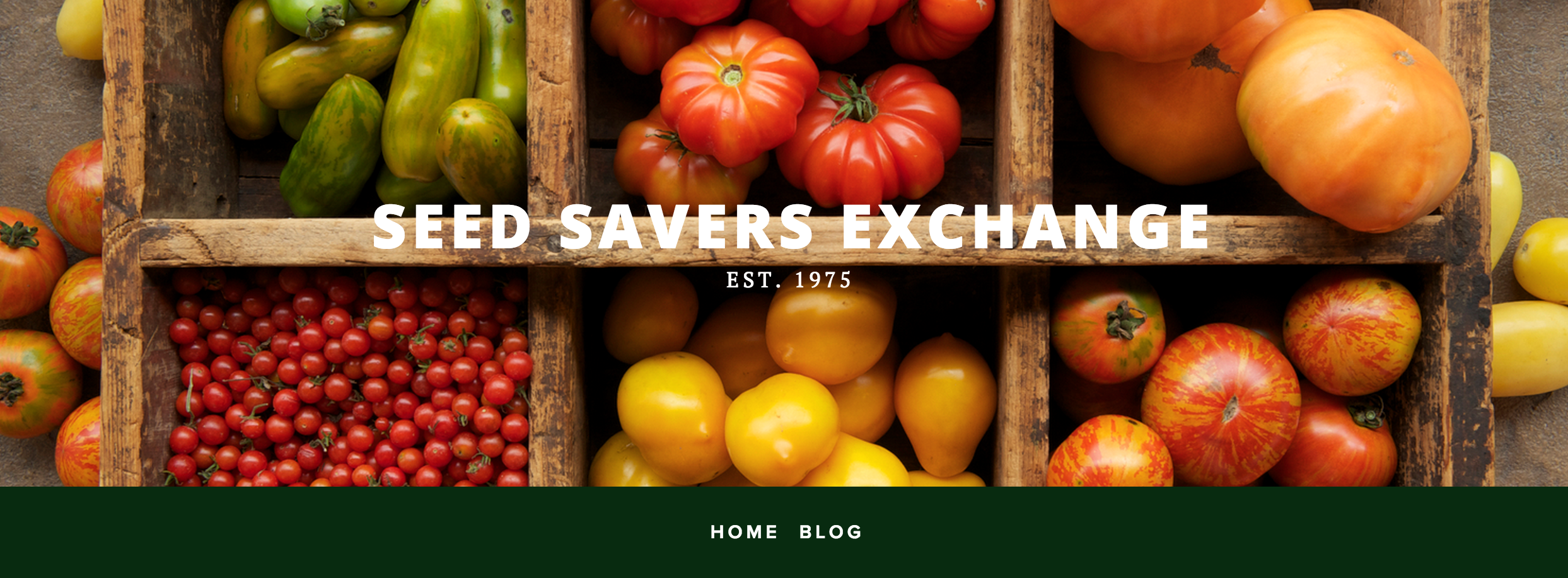 Seed Savers Exchange via Porch