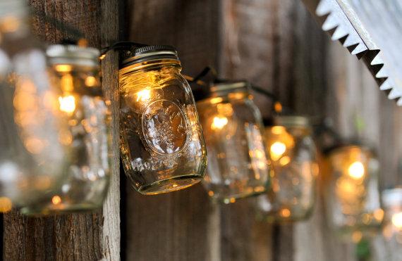 Sweet Tea Clothing Co. - mason jar string lights