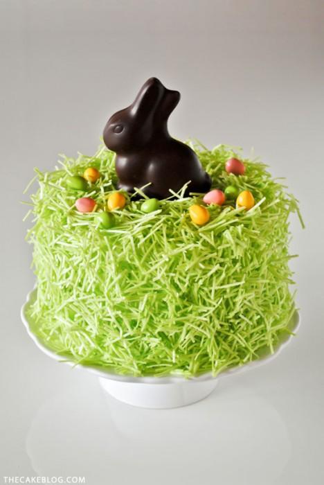 The Cake Blog Easter chocolate bunny cake