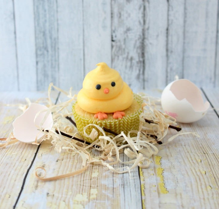 The Simple, Sweet Life Easter Chick Cupcakes