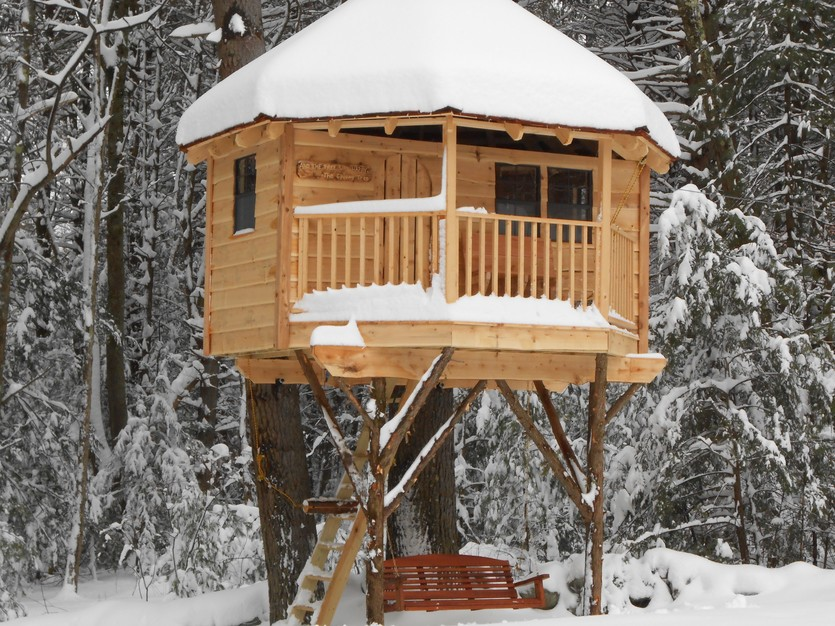 19 Amazing Treehouses That Arent Just For Kids - Porch Advice