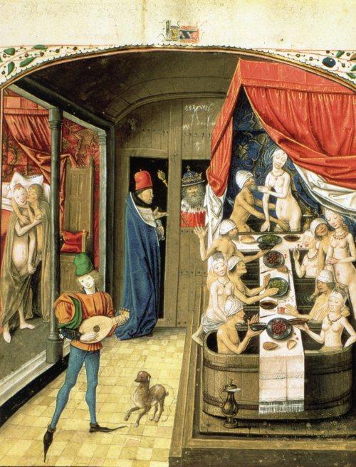 medieval bathhouses England