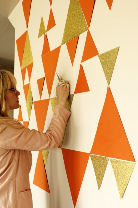 Our favorite pins of the week temporary wall coverings for Temporary wall coverings